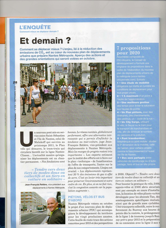 Nantes Passion Septembre 2010