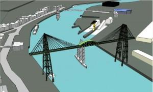 vue 3d projet pont