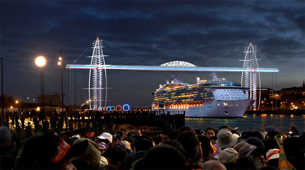 pont nuit panorama